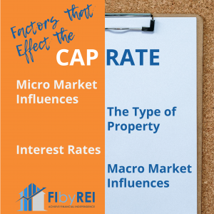 factors of a cap rate