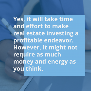 Is it hard to get into real estate?