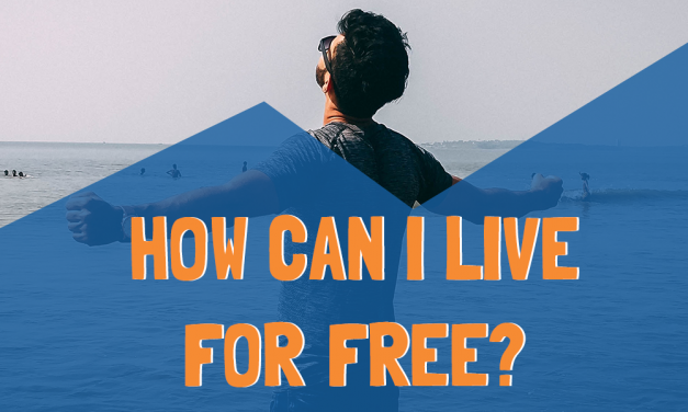 How can I live for free?