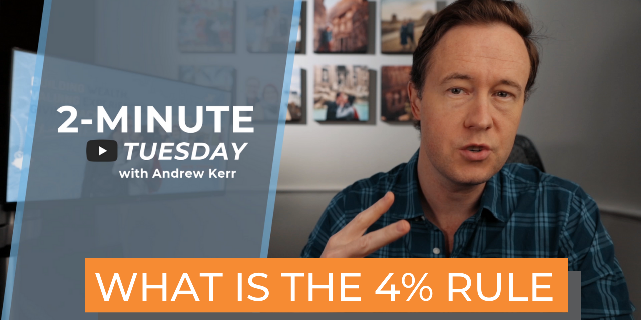 What You Need to know for Early Retirement | The 4% Rule