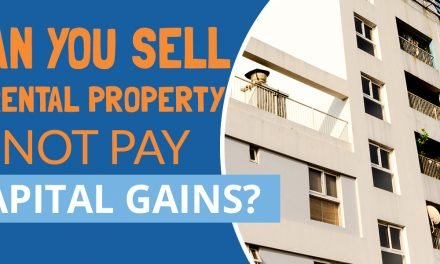 Can you sell a rental property and not pay capital gains?
