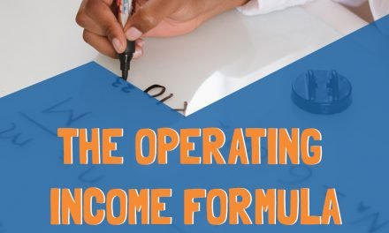 What is the operating income formula?