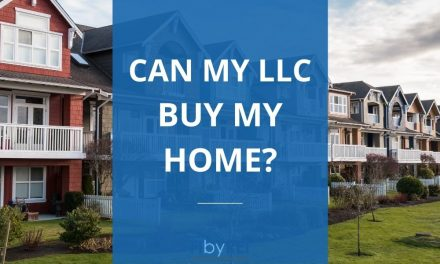 Can my LLC buy my house?