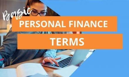 Basic Personal Finance Terms to Know